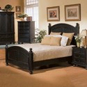 Winners Only Cape Cod  Panel California King Bed - Item Number: BE1001CKN2