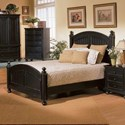 Winners Only Cape Cod  Panel King Bed - Item Number: BE1001KN2