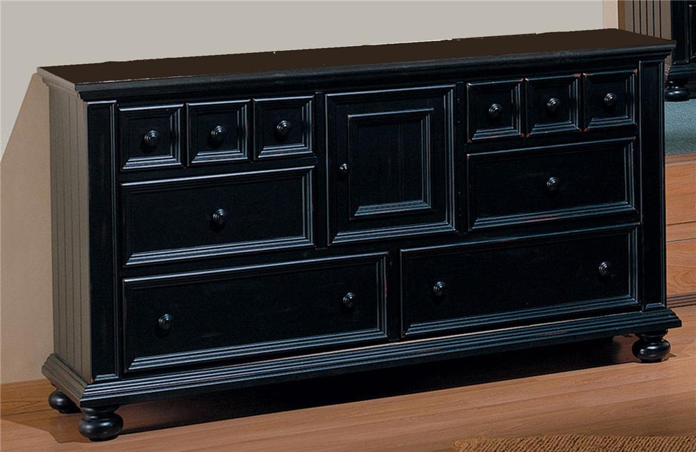 Winners Only Yarmouth Six Drawer Dresser - Item Number: BE1006