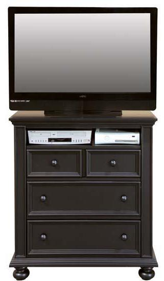 Winners Only Yarmouth 3-Drawer TV Chest - Item Number: BE1007TV