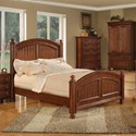Winners Only Cape Cod Panel California King Bed - Item Number: BG1001CKN2