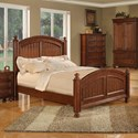 Winners Only Cape Cod Panel King Bed - Item Number: BG1001KN2