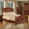 Winners Only Cape Cod Panel Twin Bed - Item Number: BG1001TN2
