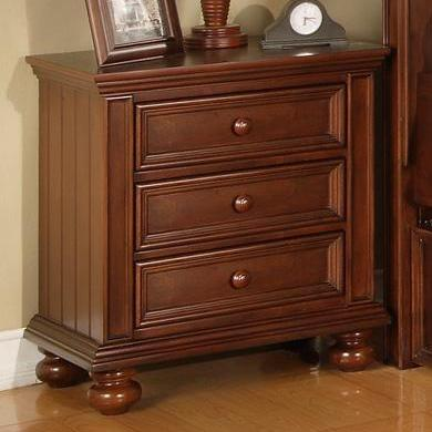 Winners Only Yarmouth Three Drawer Night Stand - Item Number: BG1005