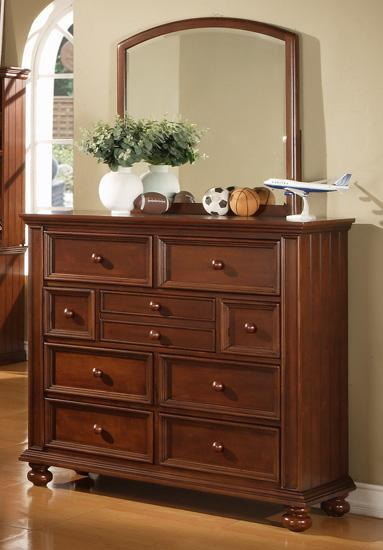 Youth Tall Dresser and Mirror Combo