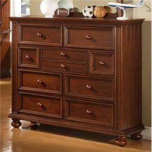 Winners Only Yarmouth Youth Tall Nine Drawer Dresser