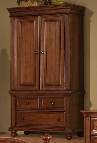 Winners Only Yarmouth Armoire - Item Number: BG1008AB
