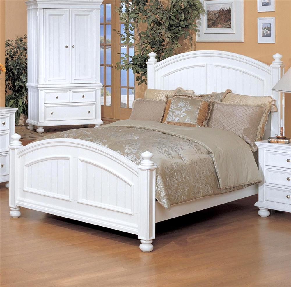 Winners Only Yarmouth Queen Panel Bed - Item Number: BP1001Q