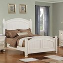 Winners Only Cape Cod  Panel Queen Bed - Item Number: BP1001QN2