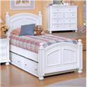 Winners Only Yarmouth Twin Panel Bed with Trundle - Item Number: BP1002+1002T