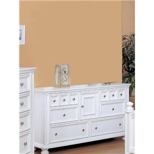 Winners Only Yarmouth Six Drawer Dresser