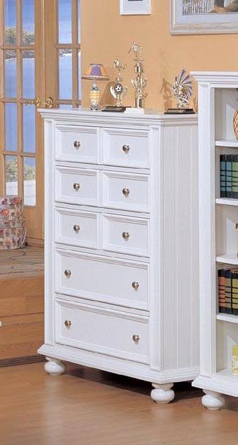 Winners Only Yarmouth Five Drawer Chest - Item Number: BP1007
