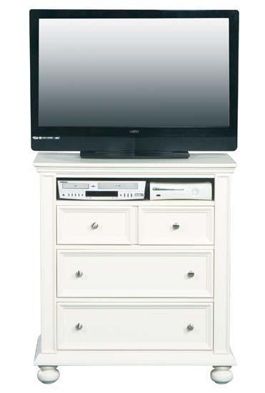 Winners Only Yarmouth 3-Drawer TV Chest - Item Number: BP1007TV