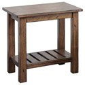 "Winners Only Carmel 18"" End Table - Item Number: AC100E"