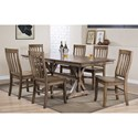 "Winners Only Carmel 60"" Rectangular Table - Item Number: DC33878R"