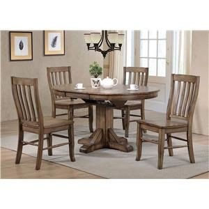 5PC Dining Table & Chair Set