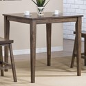 "Winners Only Carmel 36"" Square Tall Table - Item Number: DCT33636R"