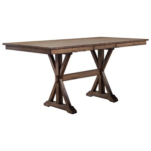 "Winners Only Carmel 78"" Counter Height Table"