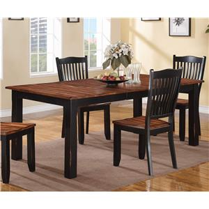 "Winners Only Carson 84"" Leg Table"
