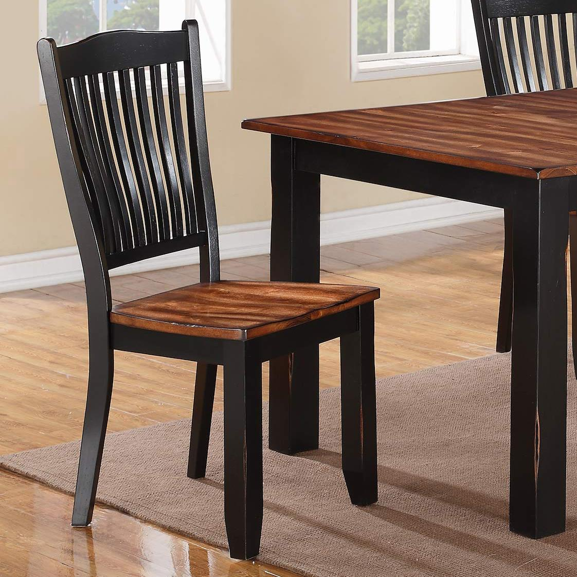 Winners Only Carson Slat Back Side Chair  - Item Number: DFC1450S