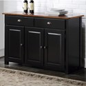 """Winners Only Carson 52"""" Sideboard - Item Number: DFC1470B"""