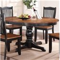 "Winners Only Carson 66"" Pedestal Table - Item Number: DFC14866"