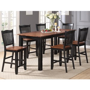 Winners Only Carson Counter Height Dining Set