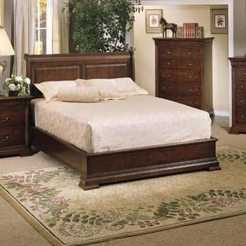 Winners Only Classic Queen Sleigh Bed - Item Number: BWK1002Q