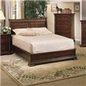 Winners Only Classic Queen Sleigh Bed with Low Profile Footboard