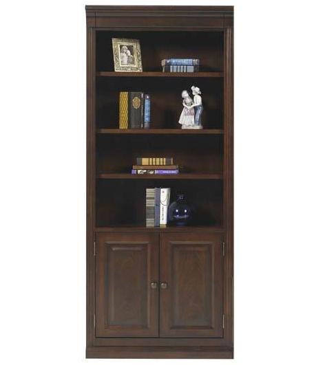 "Winners Only Classic 32"" Bookcase w/ Doors - Item Number: CK132BDR"