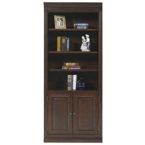 "Winners Only Classic 32"" Bookcase w/ Doors"