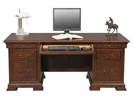 "Winners Only Classic 72"" Flattop Desk - Item Number: CK172F-RTA"