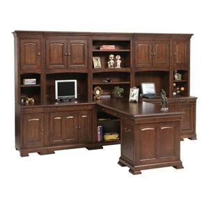 Winners Only Classic 10 Piece Desk Unit