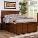 Winners Only Colorado California King Storage Bed - Item Number: BCQ1001CKS