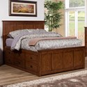 Winners Only Colorado King Storage Bed - Item Number: BCQ1001KS