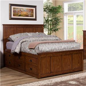 Winners Only Colorado Queen Storage Bed