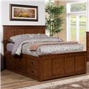 Winners Only Colorado Queen Storage Bed - Item Number: BCQ1001QS