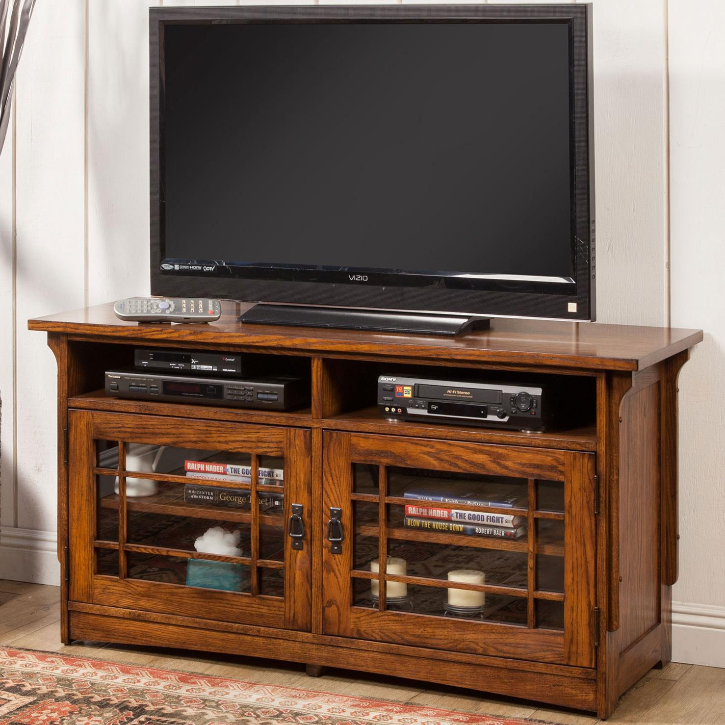 "Winners Only Colorado 54"" Lattice Media Base - Item Number: TCQ154B"