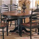 Winners Only Cottage Single Pedestal Dining Table - Item Number: DC4260CE