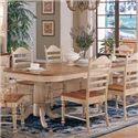 Winners Only Cottage Double Pedestal Dining Table - Item Number: DC4296HB