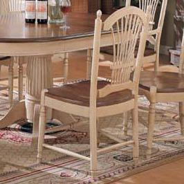 Winners Only Cottage Sheaf Back Side Chair - Item Number: DC551SHB