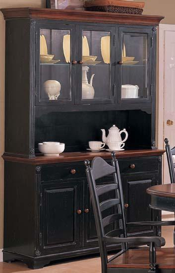 Winners Only Cottage Buffet & Hutch - Item Number: DC560BHCE