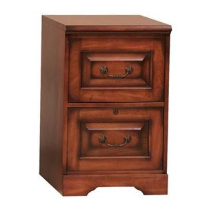 Winners Only Country Cherry Two-Drawer File Cabinet