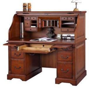 Winners Only Country Cherry 57 Roll Top Desk