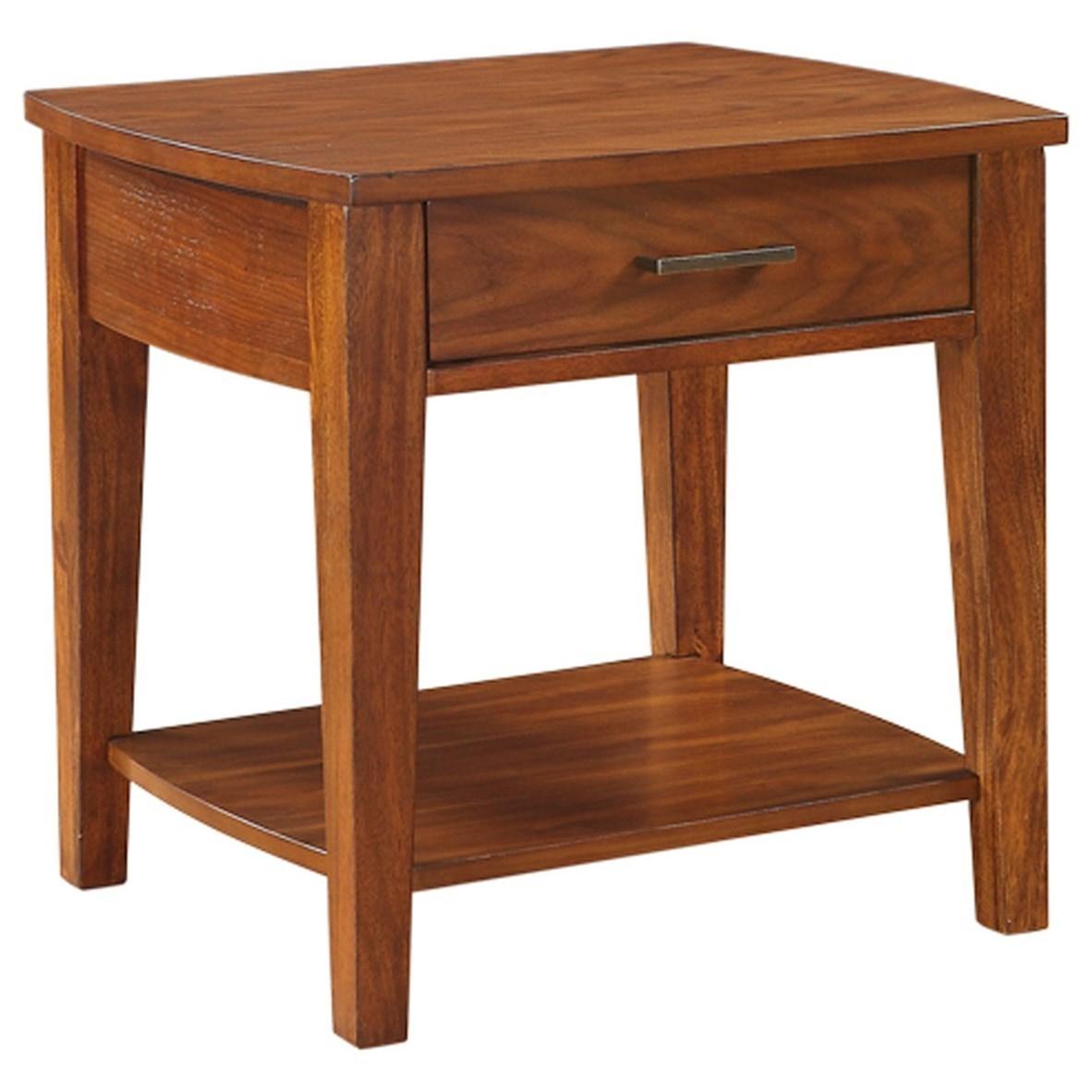 "25"" Rectangular End Table"