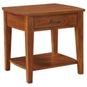 """Winners Only Davenport 25"""" Rectangular End Table - Item Number: AD201EW"""