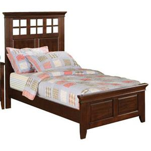 Winners Only Del Mar King Lattice Headboard Panel Bed