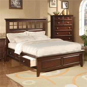 Winners Only Del Mar Queen Storage Bed