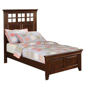 Winners Only Del Mar Twin Lattice Headboard Panel Bed
