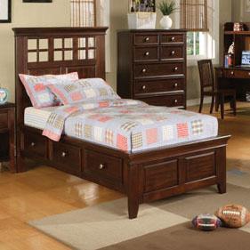 Winners Only Del Mar Twin Storage Bed